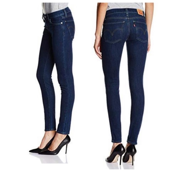 Levis 601 Pin Skinny Fit Jeans